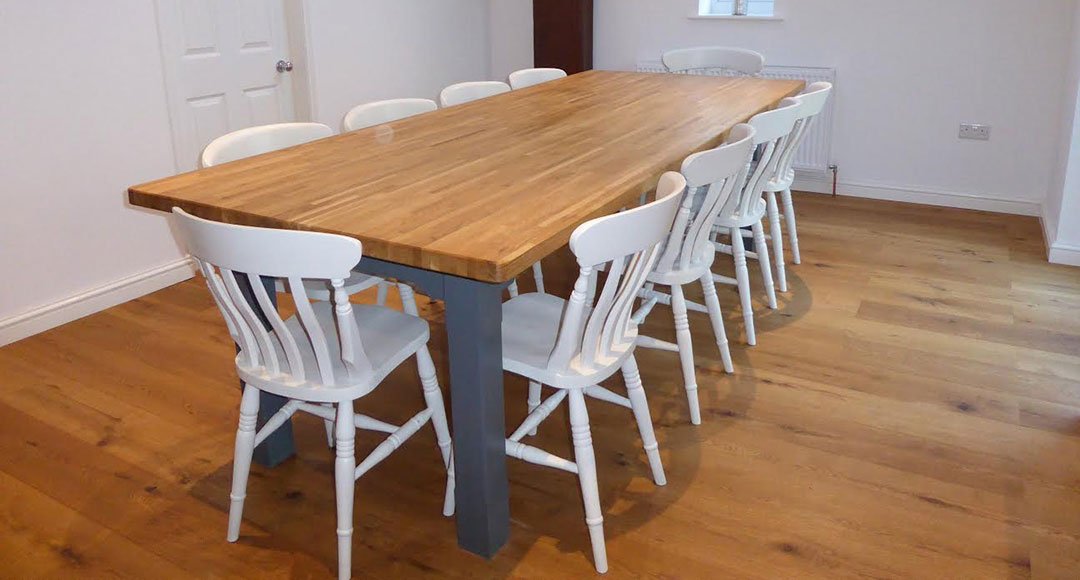 Handcrafted Farmhouse Kitchen Tables and Chairs