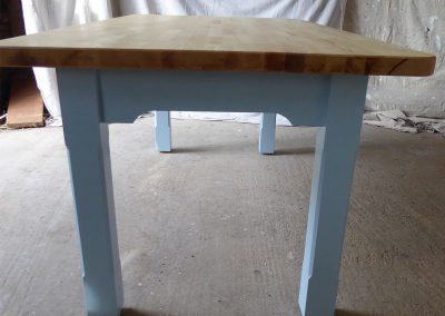 Handmade Ash-table-with-blue-legs
